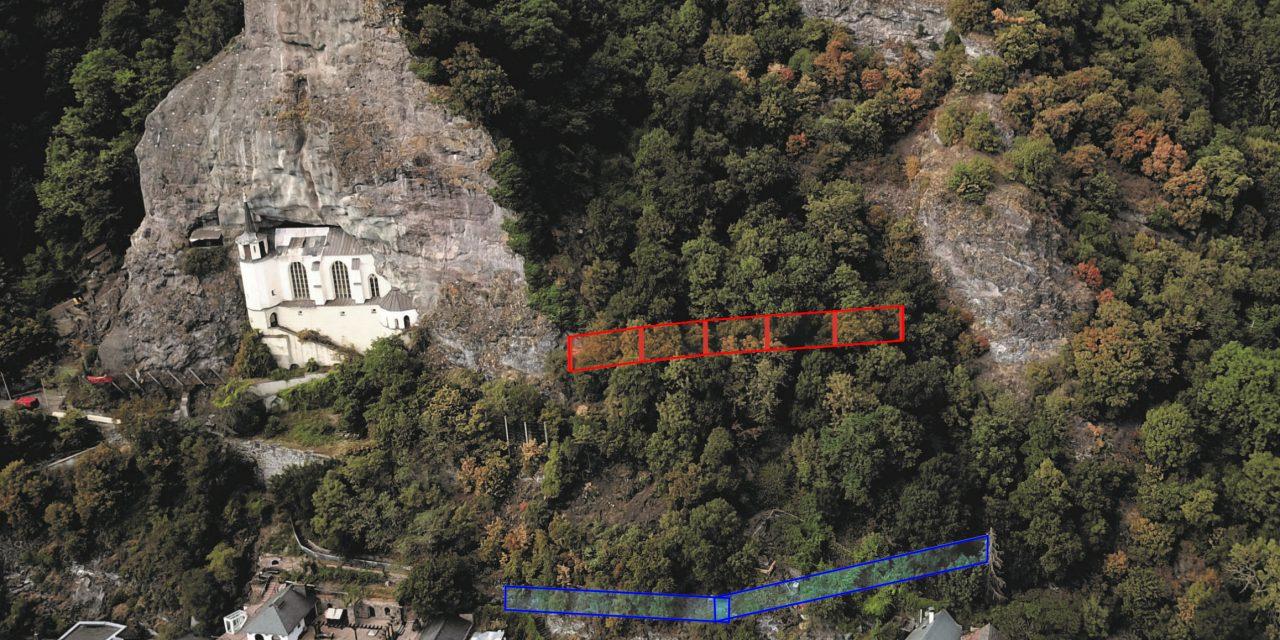 Idar-Oberstein: Felssicherungsarbeiten an der Felsenkirche