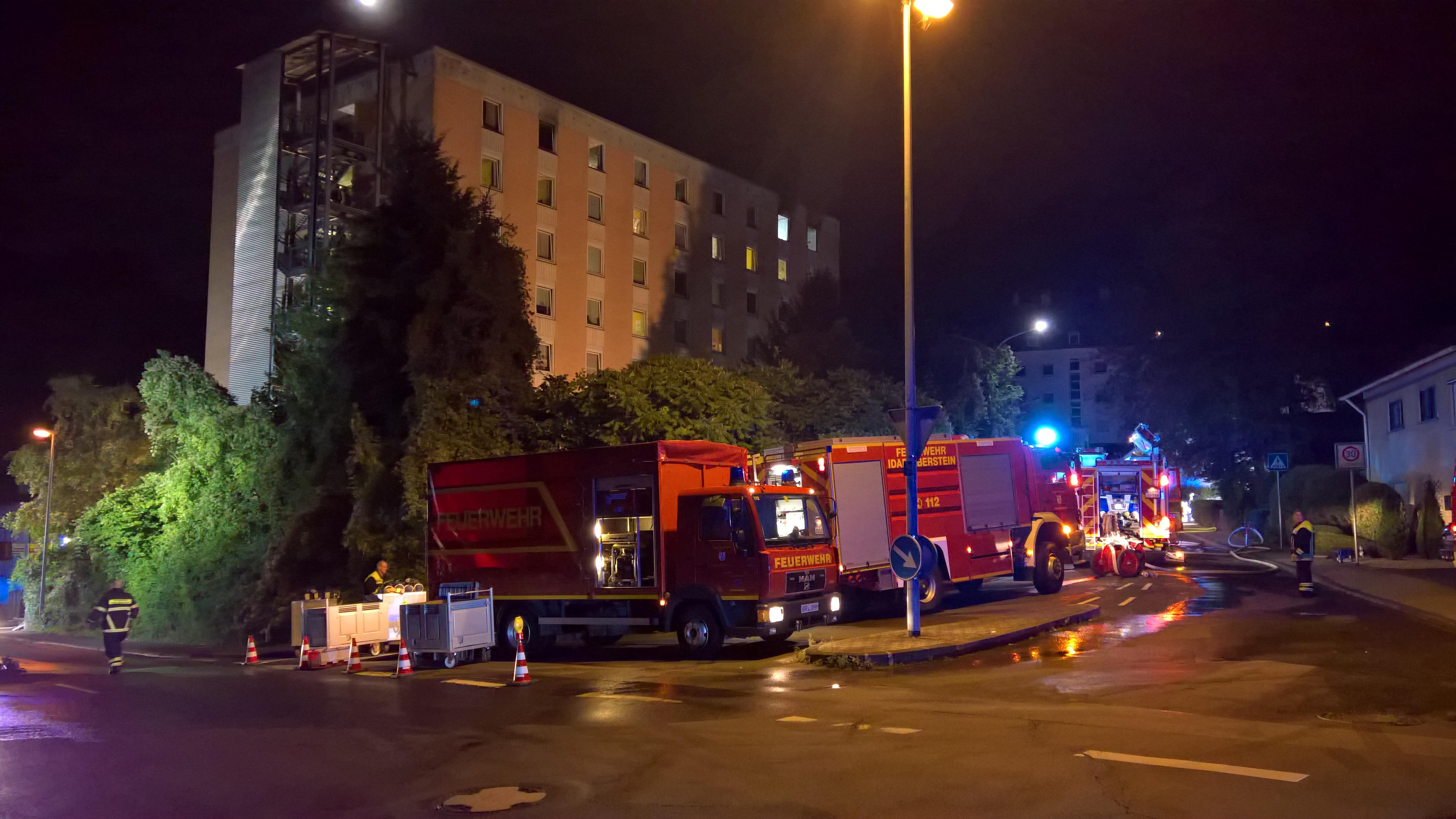 """Idar-Oberstein: Brand im Pflegeheim """"Haus Nahetal"""""""
